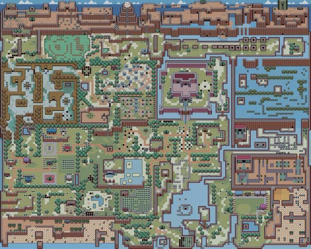 Link's Awakening_Map